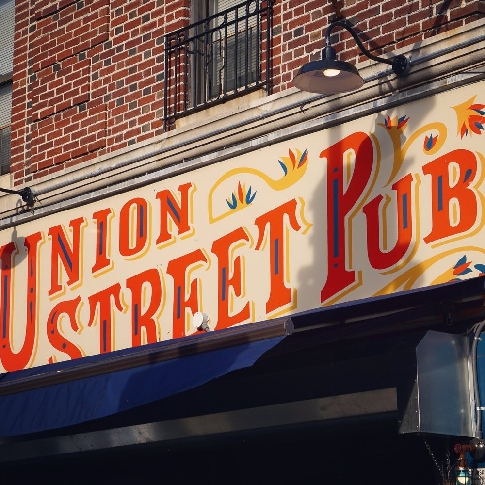 Union Street Pub   Sign Design, Identity, Fabrication