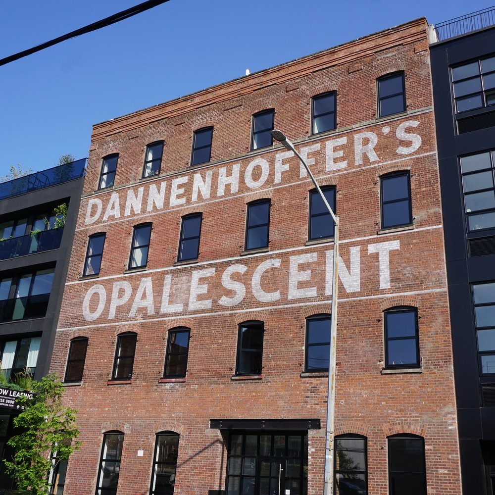 Dannenhoffer   Sign Design, Historical Recreation, Large Format Painting