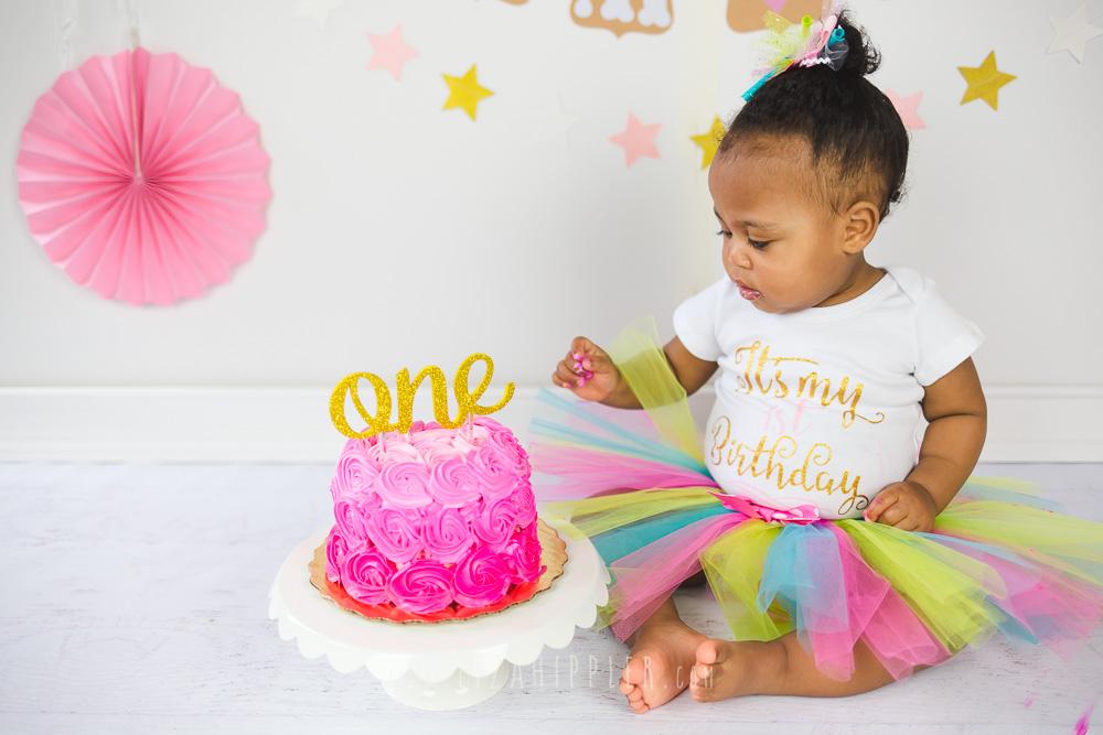 Sweetest Girl Cake Smash Session