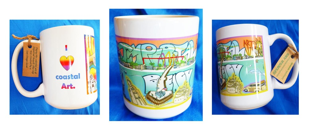 Imperial Beach Coastal Art Cup...click here to order!