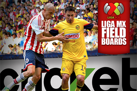 LIGA MX LED Field Board in Game Advertising