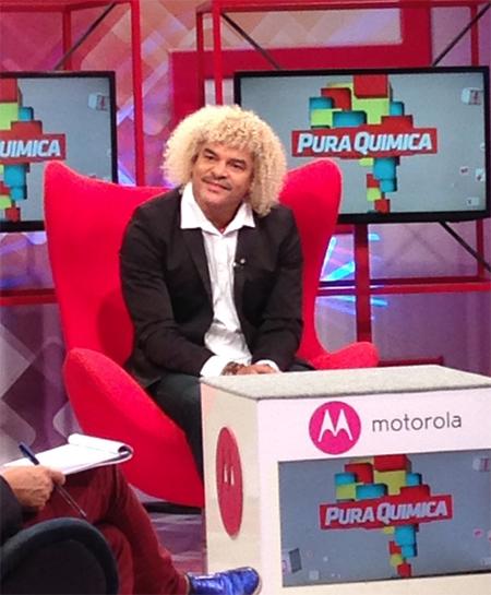 ESPN2014 World Cup Campaign, Carlos Valderrama