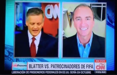 CNN Dinero: Blatter vs. FIFA Sponsors