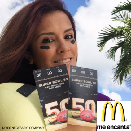 Mc Donalds, Adriana Monsalve