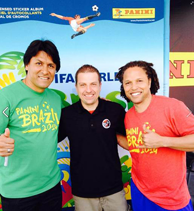 Claudio Suarez, Scott Prusha, Cobi Jones