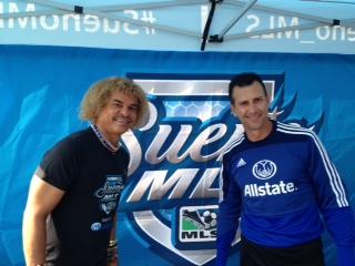 "Allstate ""Suenio MLS"", Pibe Valderrama & Felix Fernandez"