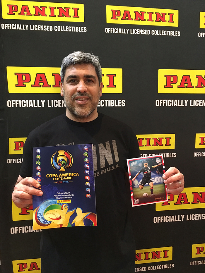 Panini, Modell's Sporting Campaign, Claudio Reyna