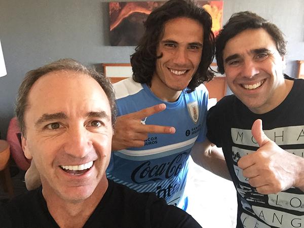 Dario, Edison Cavani & Charlie