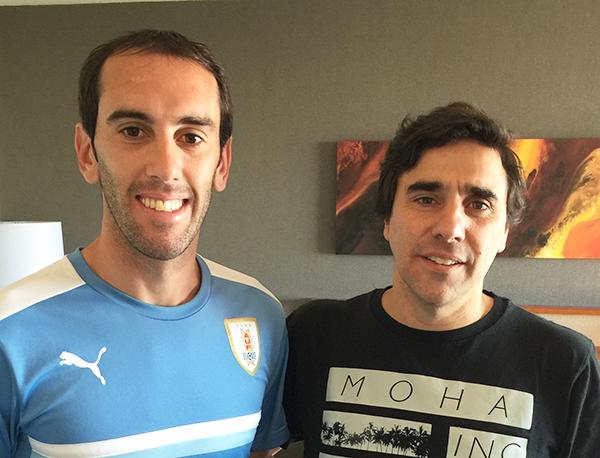 Diego Godin & Charlie