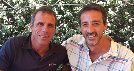 Gianfranco Zola and Mariano