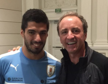 Luis Suarez and Dario