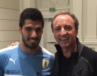 Luis Suarez and Dario