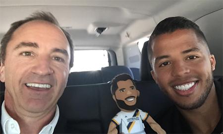 Dario and Giovani dos Santos