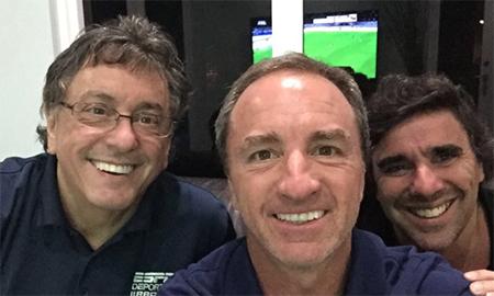 Jorge Ramos, Dario and Carlos