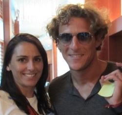 Daniella and Diego Forlan