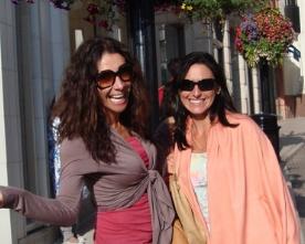 Maggie Jimenez and Daniella