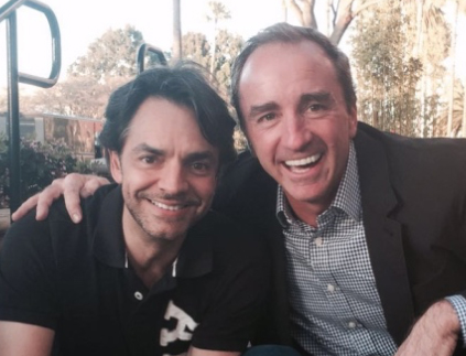 Eugenio Derbez and Dario