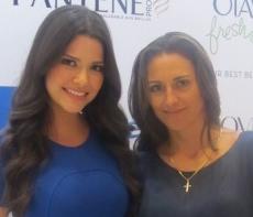 Ana Patricia Gamez and Daniella