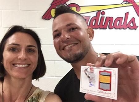 Daniella and Yadier Molina