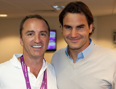 Dario and Roger Federer