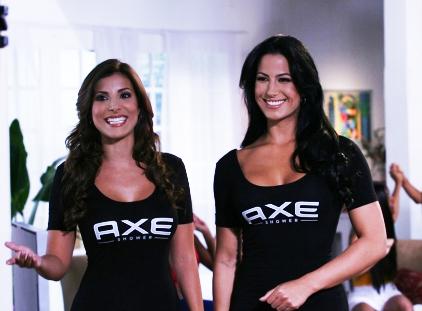 AXE, Natalia Saenz, Alba Galindo