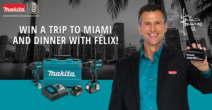 MAKITA, Felix Fernandez Sweepstakes Dinner