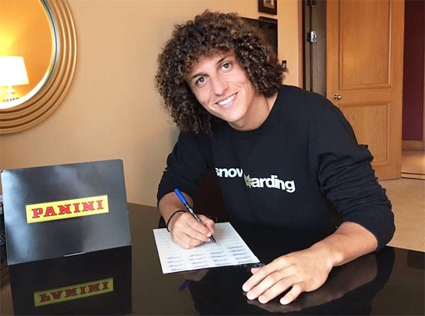 DAVID LUIZ; Chelsea FC, Brazil NT