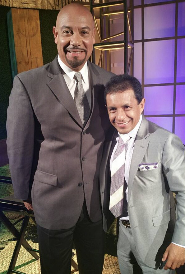 Edgar and Triple Crown Winner Victor Espinosa