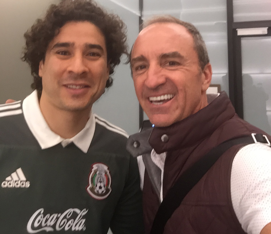 Guillermo Ochoa and Dario