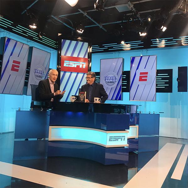 Jorge Ramos ESPN with Jorge Ramos Univision