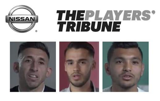 Nissan Players' Tribune; Herrera, Corona, Reyes
