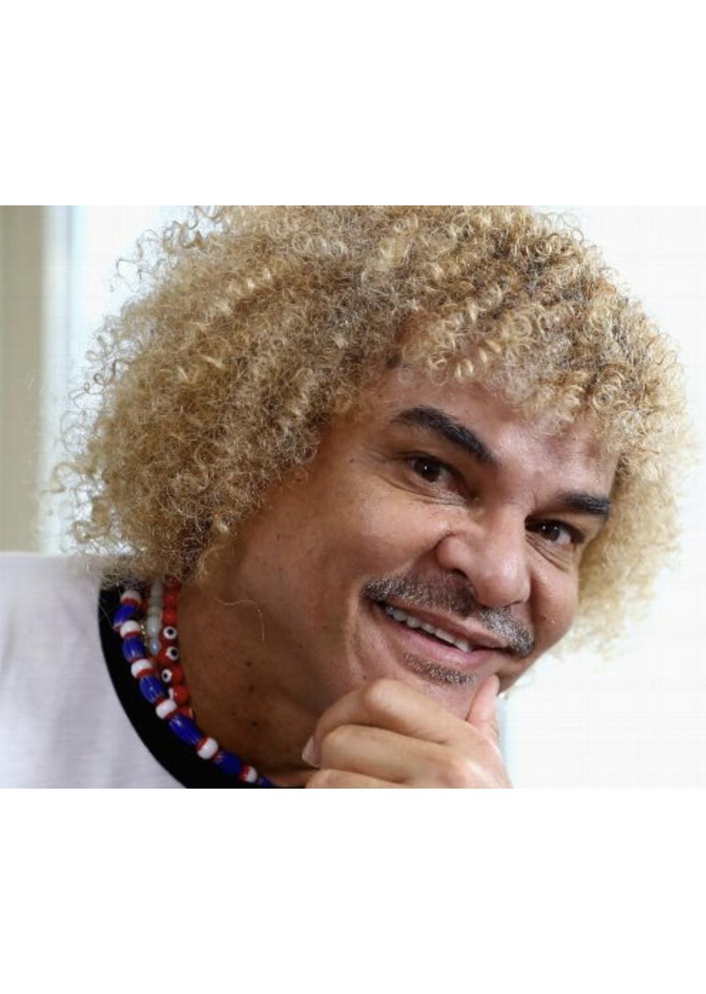 "Carlos ""el Pibe"" Valderrama, Colombian Soccer Legend"