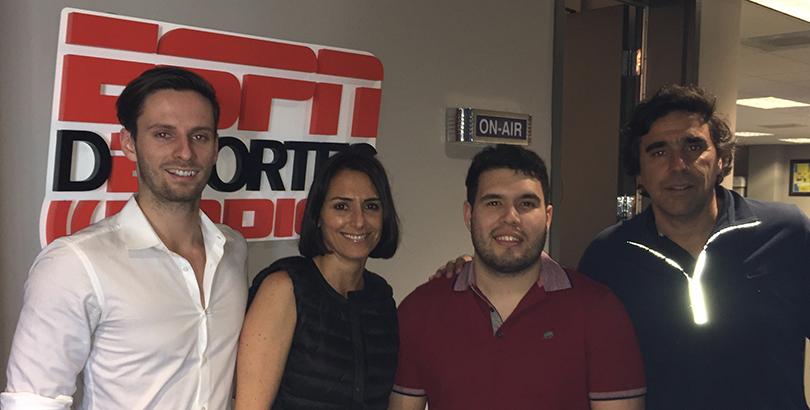 Henry Tufnell, Dani Broggi, Jordi Salles, Carlos Grandolini