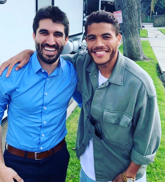 Jona Dos Santos y Gabriel Valdez