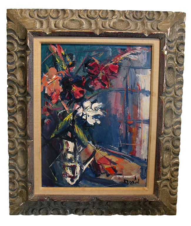 Alexander Redein floral still life: $1100