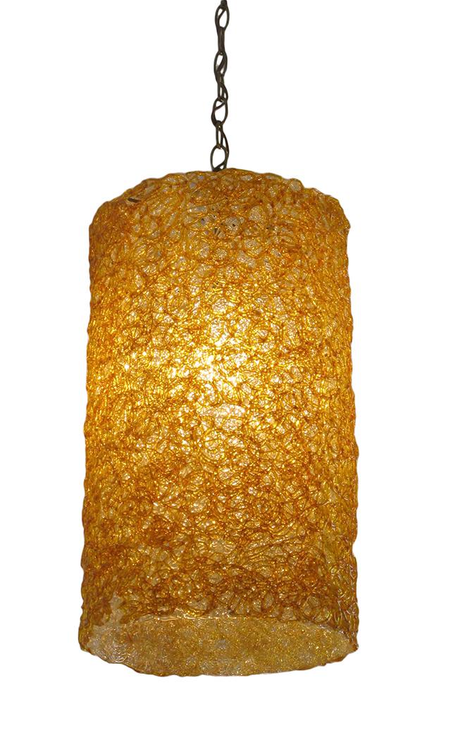 Lucite spagetti pendant: $580