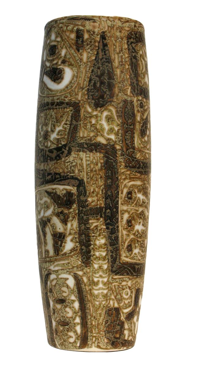 Royal copenhagen stoneware vase large