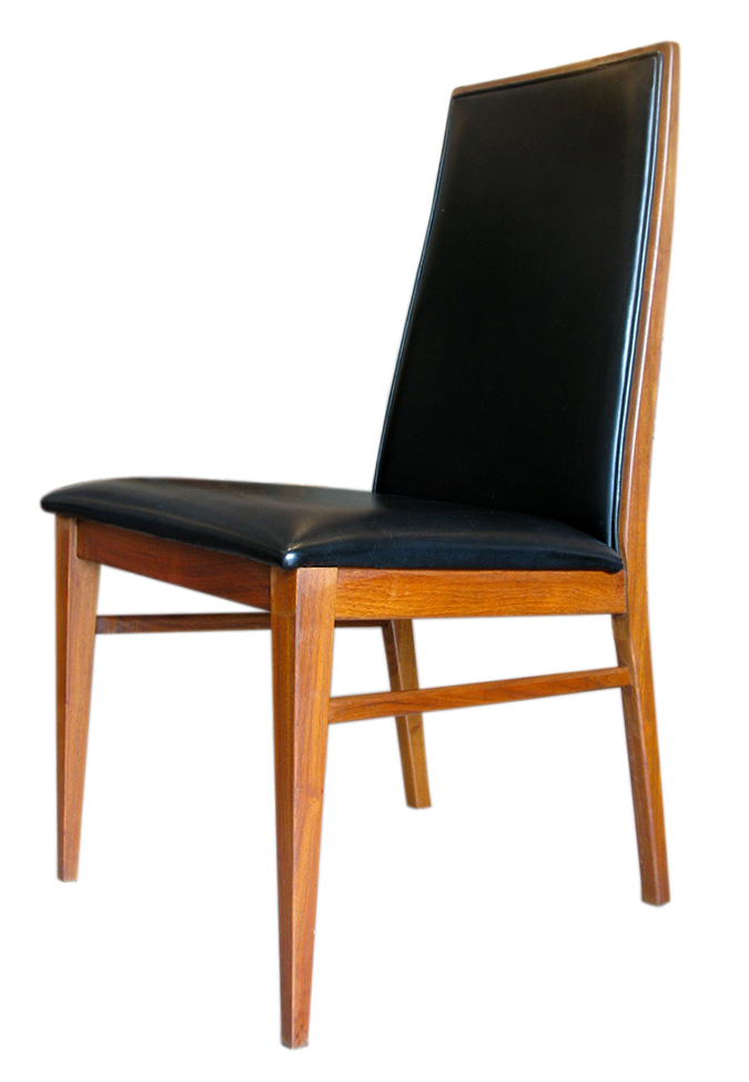 Chair dining vinyl high backed .jpg