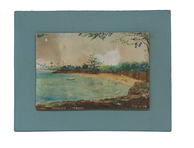 Mini seascape on board: $80