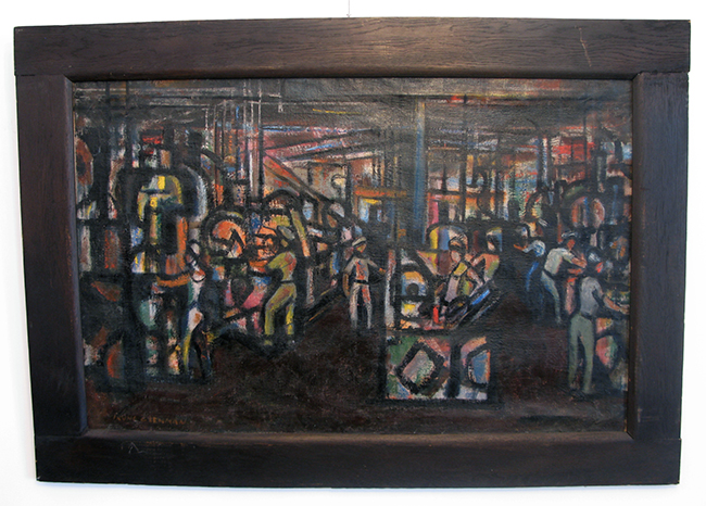 WPA Painting By Irving Lehman