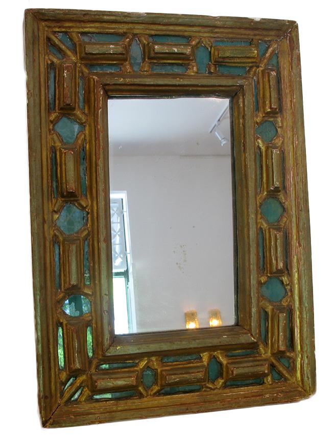 Gilt Italian Mirror: $280