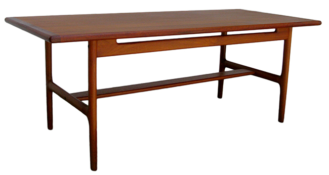 Teak coffee table: $950