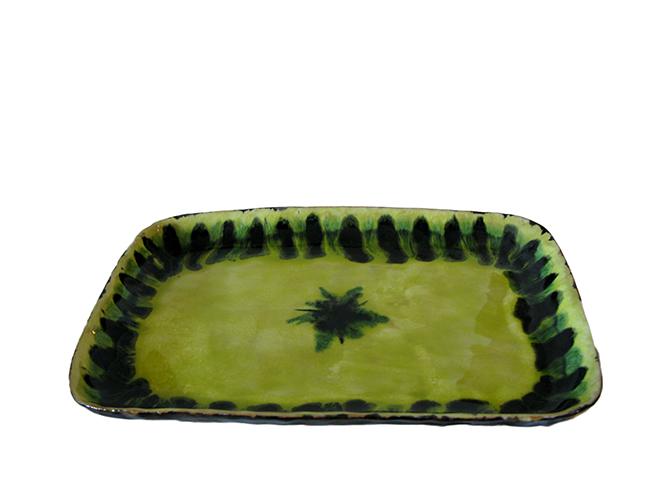 Studio pottery dish: Sold