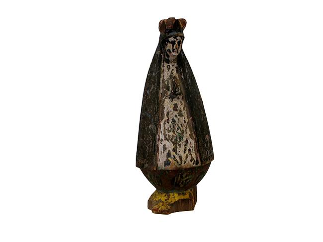 Virgen de la caridad del cobre: $50