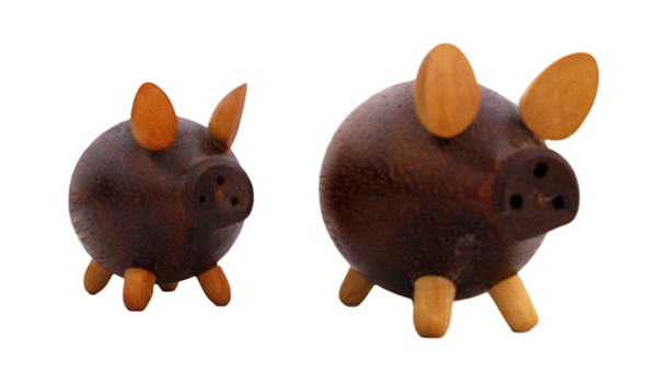 Danish pig salt & pepper: $36