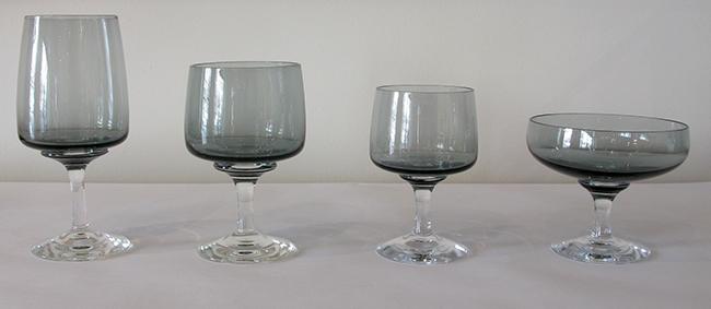 Holmegaard glassware: $330