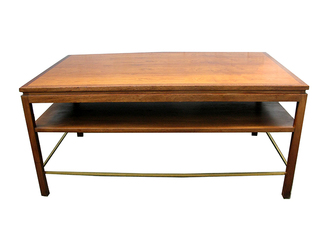 Edward Wormley coffee table: $1400