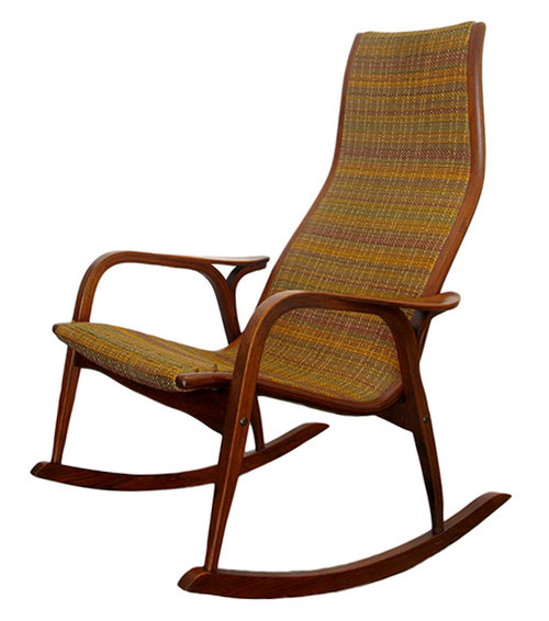 rocking chair lamino by yngve ekstrom westside modern mid