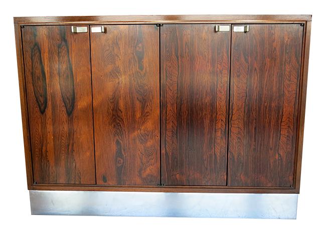 Milo Baughman rosewood two door cabinet.jpg