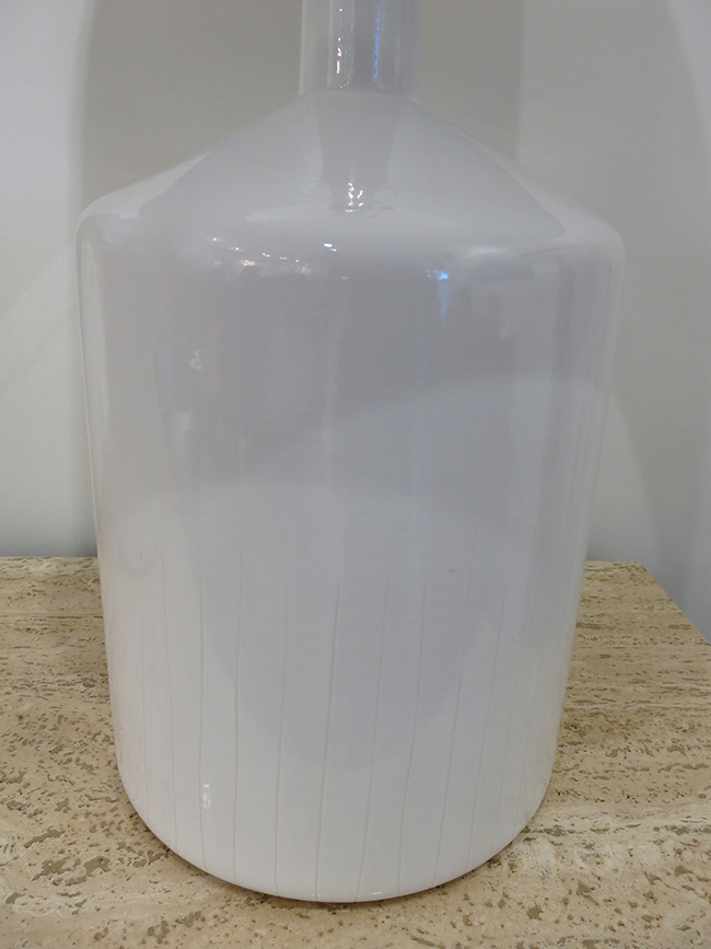 White ceramic barrell lamps - mid century modern atlanta.jpg